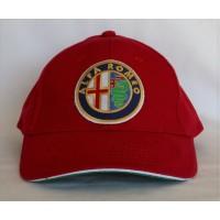 2747 ALFA ROMEO ITALY ADULT 6 PANELS CAP