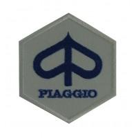 0473 Patch emblema bordado 8x8 Piaggio Vespa