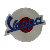 Patch emblema bordado 9x7 Vespa