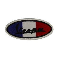 0478 Embroidered patch 10x4 Vespa FRANCE