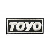0483 Embroidered patch 10x4 TOYO