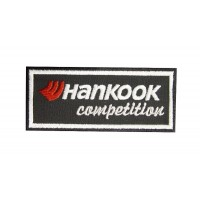 Patch emblema bordado 10x4 HANKOOK COMPETITION