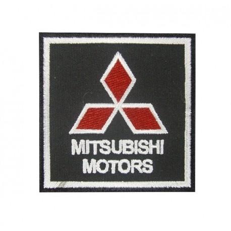 Embroidered patch 7x7 Mitsubishi Motors