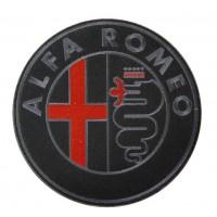 0495 Patch emblema bordado 22x22 ALFA ROMEO