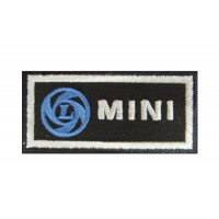 0507 Patch emblema bordado 8x4 MINI LEYLAND