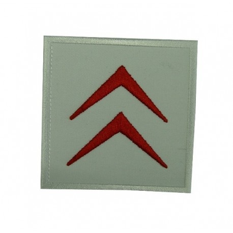 Embroidered patch 7x7 CITROEN 1985 LOGO