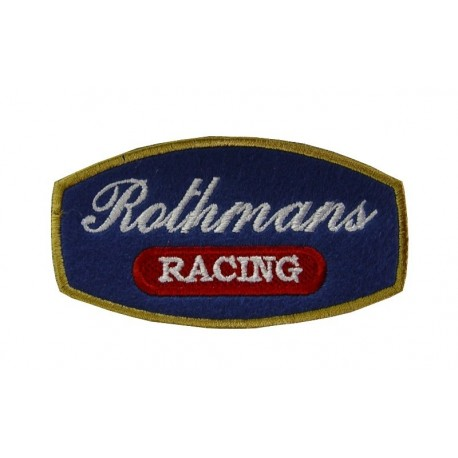 Embroidered patch 9x5 ROTHMANS RACING