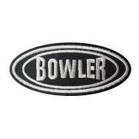 0527 Embroidered patch 10x4 BOWLER