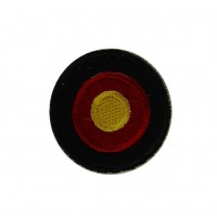 0532 Embroidered patch sew on 4x4 Germany flag Vespa