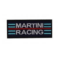 0537 Embroidered patch 10x4 MARTINI RACING