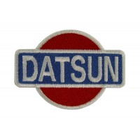 0554 Embroidered patch 7x6 DATSUN