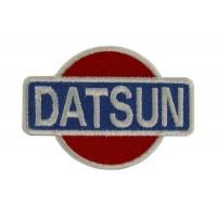 0554 Parche emblema bordado 7x6 DATSUN