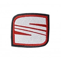 0558 Embroidered patch 6x5 SEAT 1999 LOGO