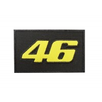 Embroidered patch 10x6 VALENTINO ROSSI Nº 46