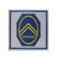 0563 Embroidered patch 7x7 CITROEN 1919 LOGO