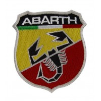 0565 Embroidered patch 10x8 ABARTH