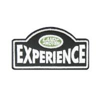 0573 Patch écusson brodé 9x7 LAND ROVER EXPERIENCE