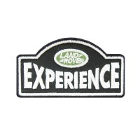 0573 Patch emblema bordado 9x7 LAND ROVER EXPERIENCE