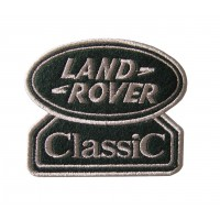 0585 Patch emblema bordado 9x7 LAND ROVER CLASSIC