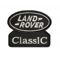 0586 Embroidered patch 9x7 LAND ROVER CLASSIC