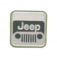 0587 Embroidered patch 6X6 JEEP