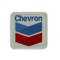 0589 Patch emblema bordado 6X6  CHEVRON