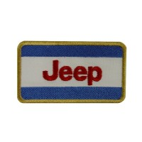 Patch emblema bordado 8x4 JEEP