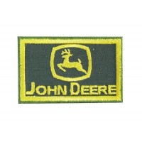 0591 Patch écusson brodé 7x4 JOHN DEERE