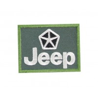 0592 Patch emblema bordado 6X5 JEEP CHRYSLER