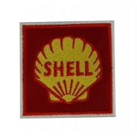 0620 Patch écusson brodé 7x7 SHELL 1955