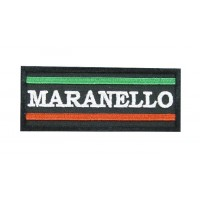 0625 Embroidered patch 10x4  Ferrari Maranello