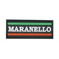 0625 Patch emblema bordado 10x4 Ferrari Maranello