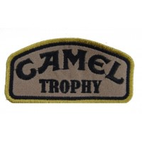 Patch emblema bordado 10x5 camel trophy