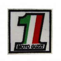 Patch emblema bordado 7x7 Moto Guzzi nº 1
