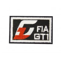 Embroidered patch 6X4 FIA GT1