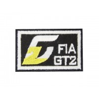 0640 Patch emblema bordado 6X4 FIA GT2