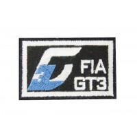 0641 Embroidered patch 6X4 FIA GT3
