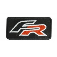 0645 Embroidered patch 10x5 SEAT FR