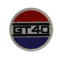 0654 Embroidered patch 5X5 FORD GT 40