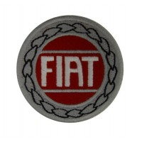 0656 Embroidered patch 7x7 FIAT 1929 LOGO  ABARTH 131
