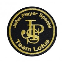 Embroidered patch 7x7 LOTUS JPS TEAM LOTUS JOHN PLAYER SPECIAL