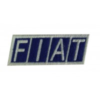 Patch emblema bordado 9X3 FIAT LOGO 1968
